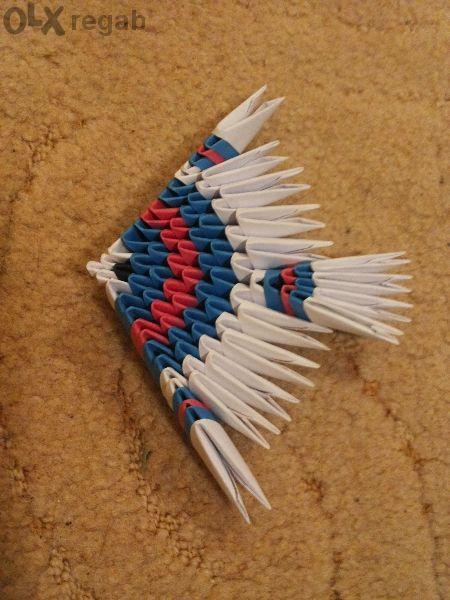 Оригами рибка