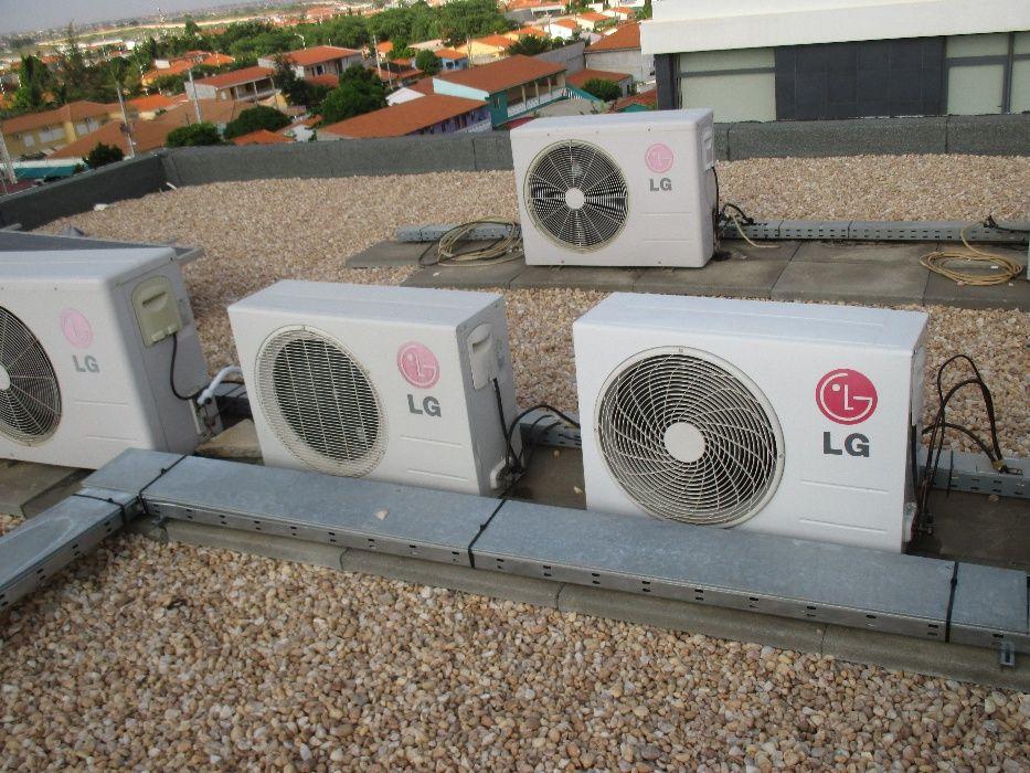 instalação e manutenção de aparelhos de ar condicionado.