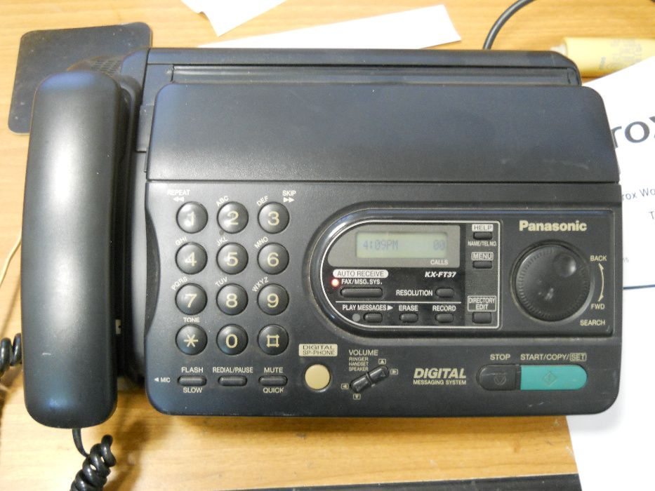Aparat Fax-tel Panasonic KX-FT37