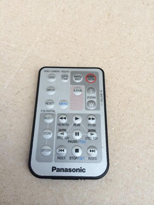 Telecomanda Panasonic Vql 9222 Camera Video