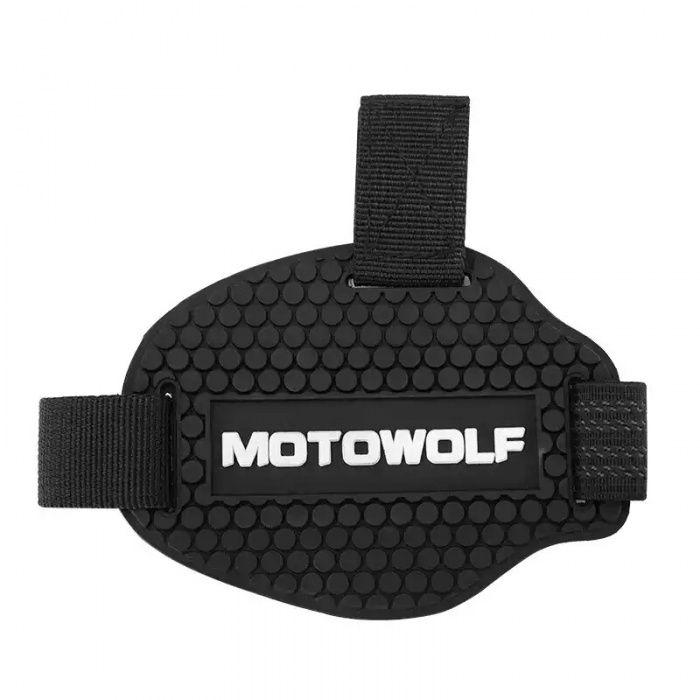 Новая, Универсальная - Защитная накладка для обуви мотоциклиста.