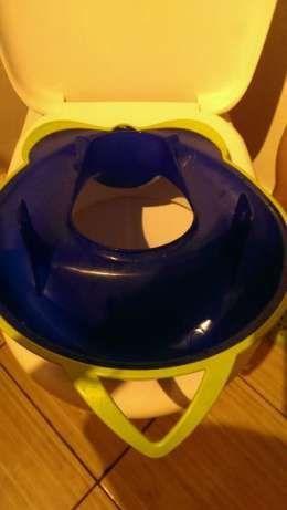 Colacel WC nou, pt.copii care renunta la olita, broscuta/silicon