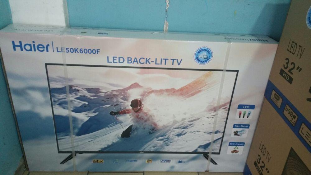 Grande promoção de tvs haier LED FULL HD 50 polegadas novas na caixa