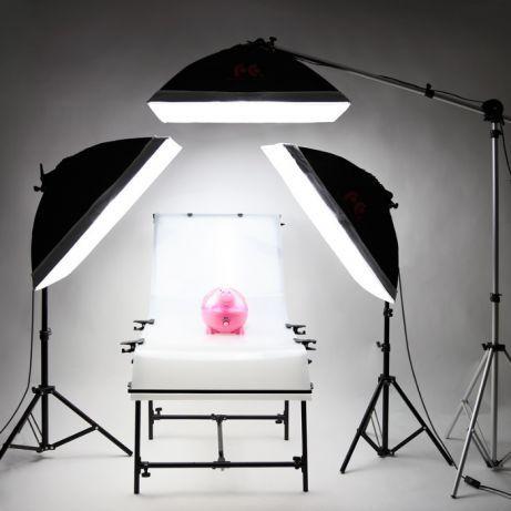 Masa foto plianta pt fotografie produs 60x100cm, blitz,lumina continua