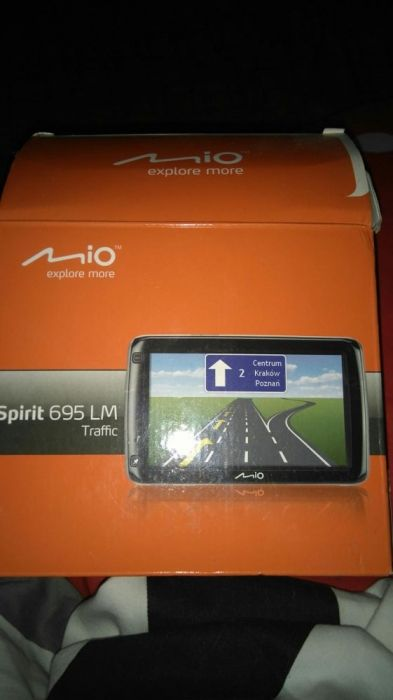 GPS Mio Spirit 695 LM Traffic