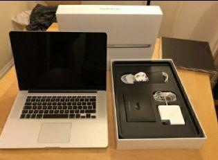 Macbook pro novo Na caixa