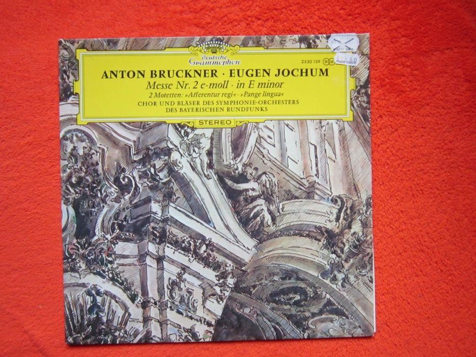 Vinil/vinyl rar Bruckner -Messe Nr2&2 Motetten-Eugen Jochum -impecabil
