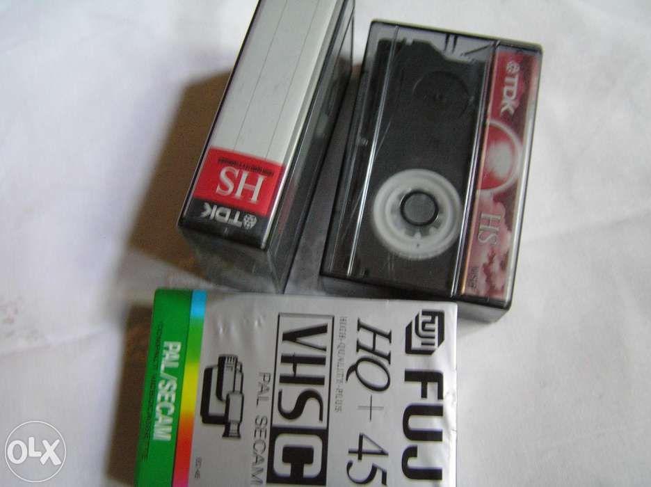 casete camera VHS_C Fuji/TDK