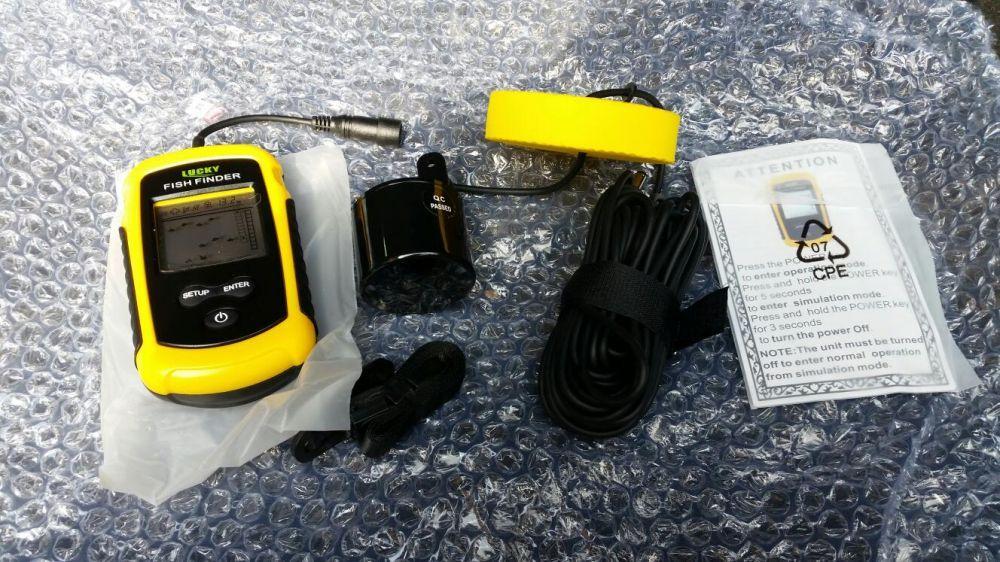 Sonar pescuit detector pesti