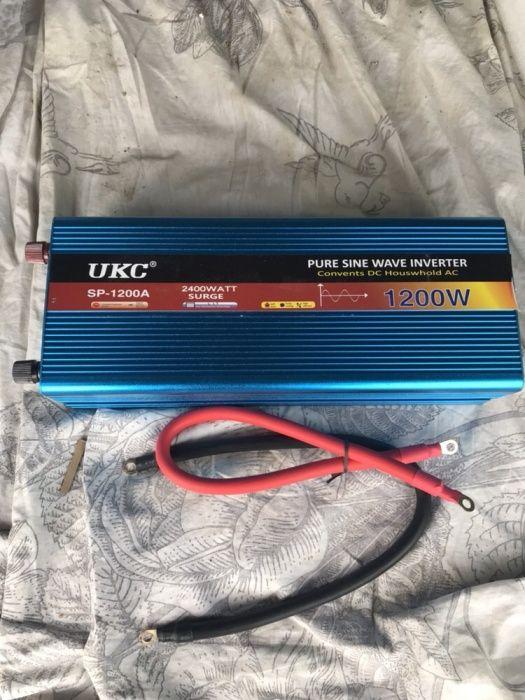 Invertor Curent 1200W Sinus Pur (12V) Frigider
