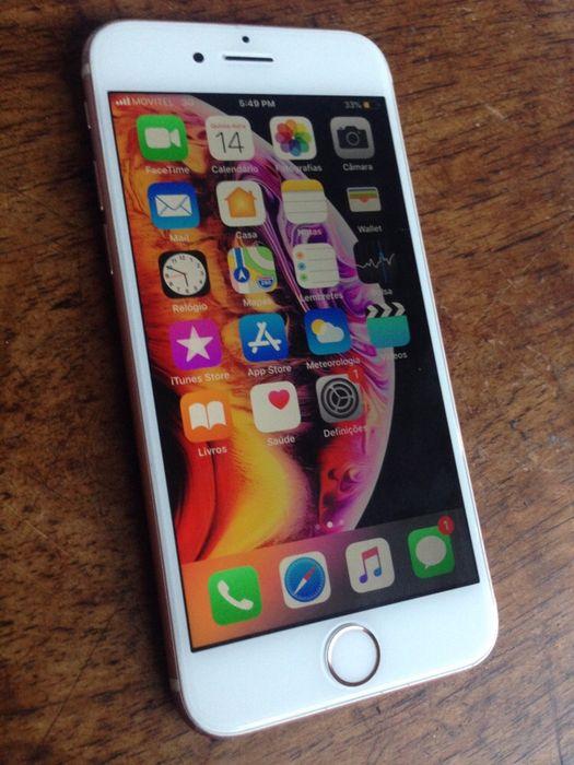 iPhone 6s rose gold 16gb tudo on