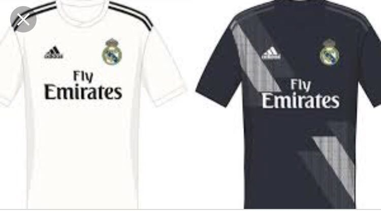 Todos equipamentos do real Madrid