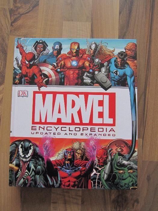 Enciclopedie Marvel x-Men Iron Man Thor Wolverine