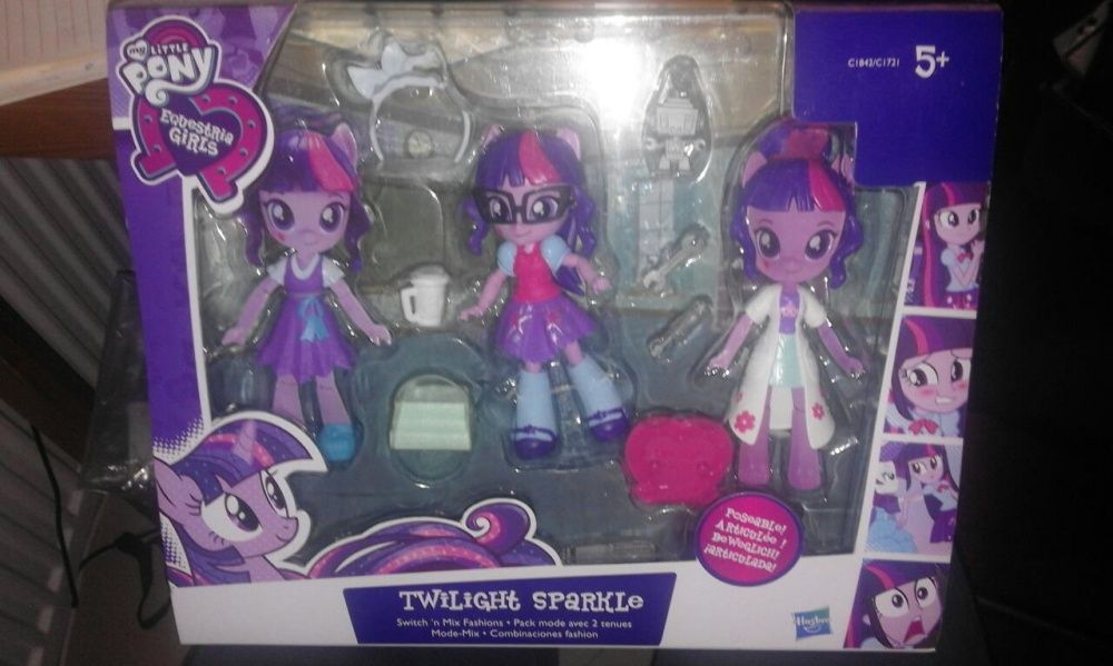 Set nou Hasbro MLP Papusa Twilight Sparkle Switch 'n Mix Fashions