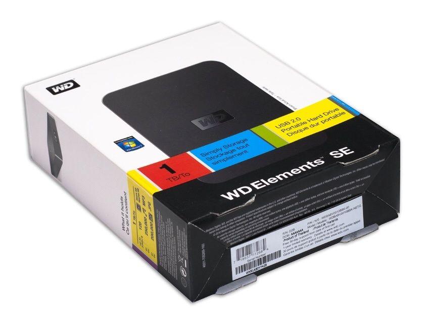 Case hd USB 2.0 WD element selado