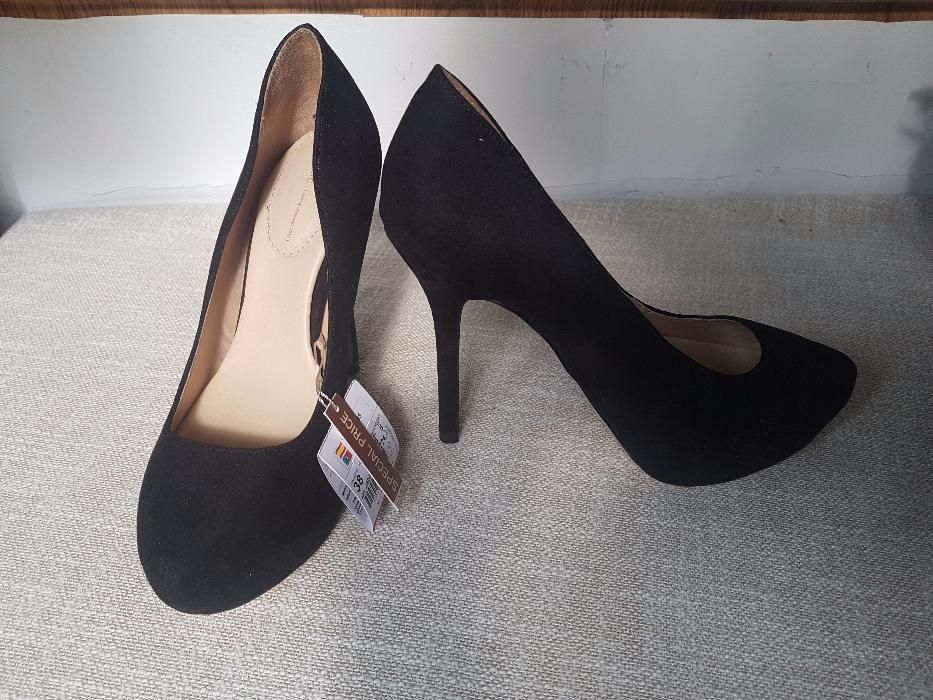 Pantofi piele ZARA, 37