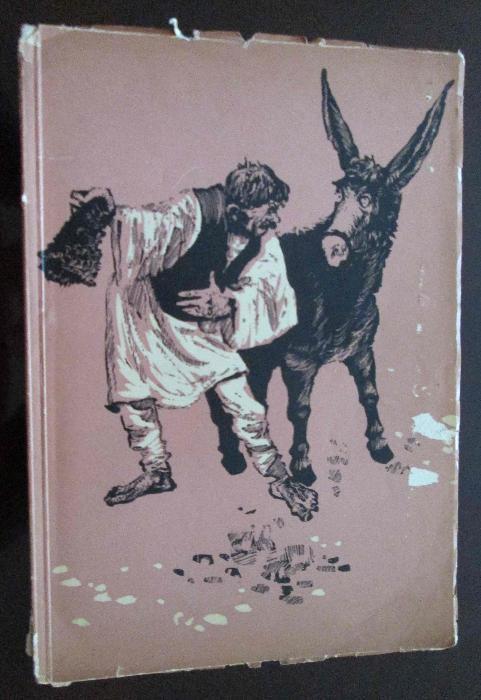 Cartea Stihuri pestrite, Tudor Arghezi, 1960, ilustratii de Perahim