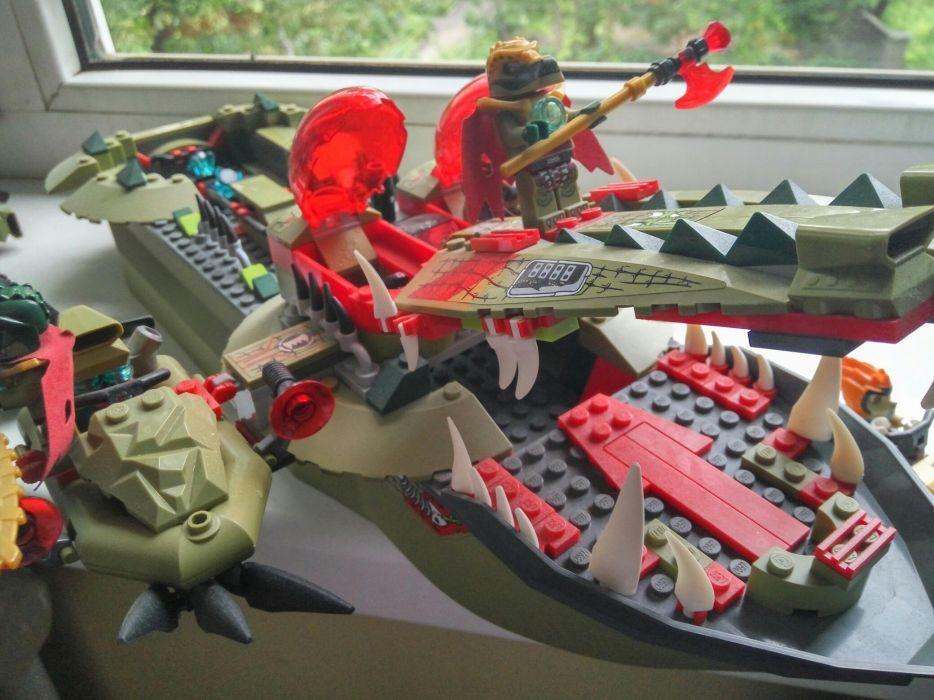Lego # 70006 Флагманский корабль Краггера