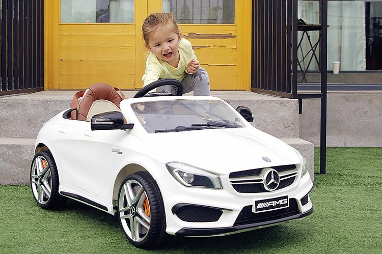 Акумулаторна кола Mercedes Benz CLA45 AMG гр. София - image 5