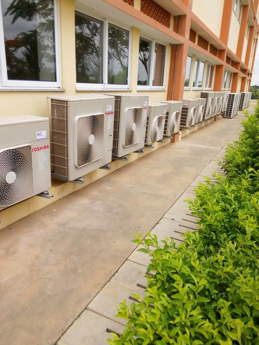 Montagem manutenção e reparação de ar condicionado' Contratos etc...