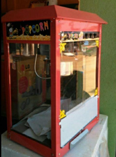 Máquina de pipoca novo a venda