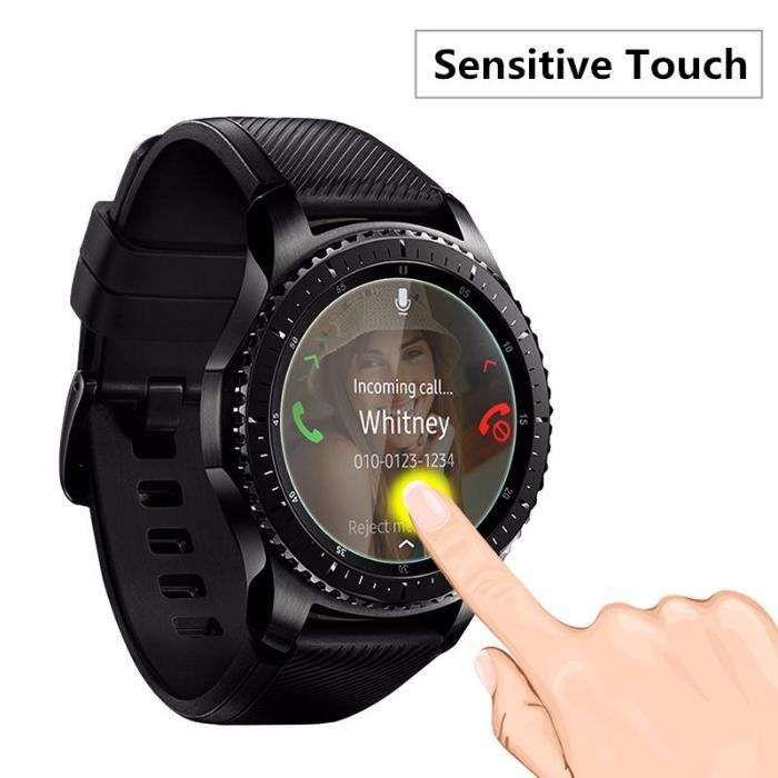 folie sticla protectie Smartwatch Samsung Gear S3 Classic / Frontier