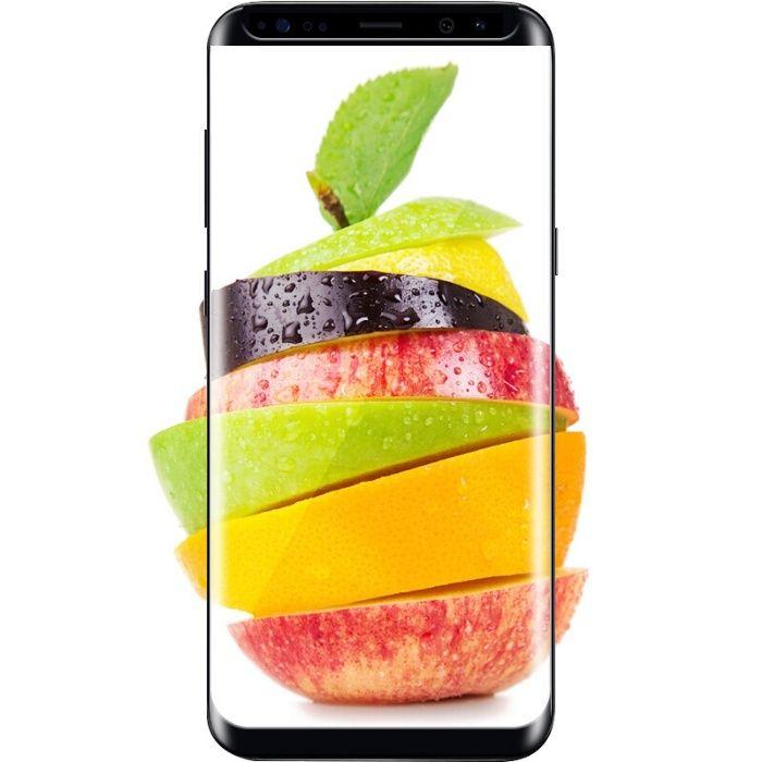 Folie Sticla Curbata Neagra Full Adeziv Samsung S8 S8+ Note 8 9 S9 S9+