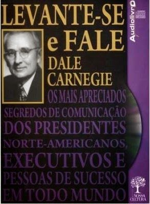 Levanta se e fala audio livros CD Dale Carnegie