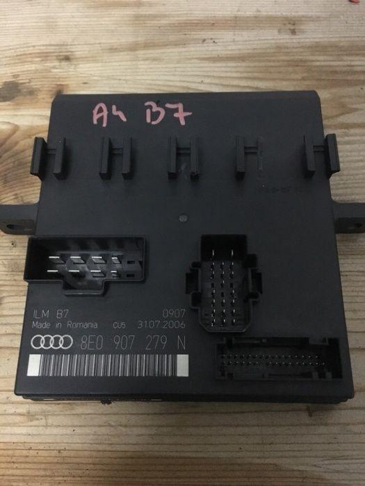 Unitate control bord,calculator lumini/confort audi A4 b7 8E0907279N