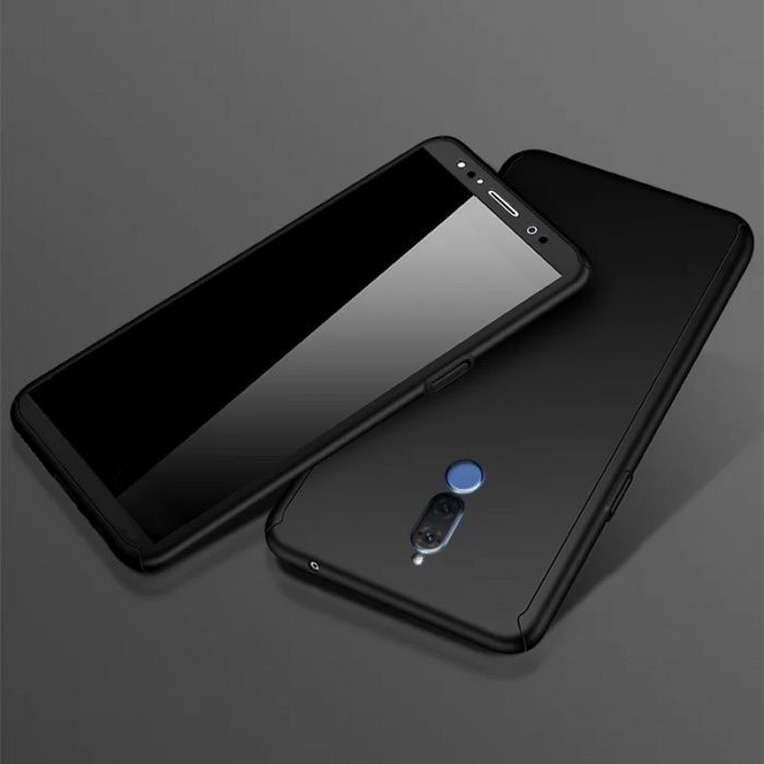 Кейс 360° градуса мат за Huawei Mate 10 lite / Pro + стъклен протектор