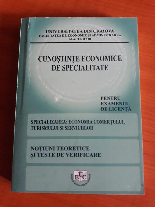 Cunostinte economice de specialitate - Examen de licenta