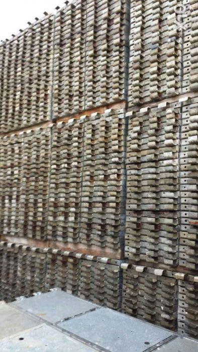 Podine metalice schela pedane