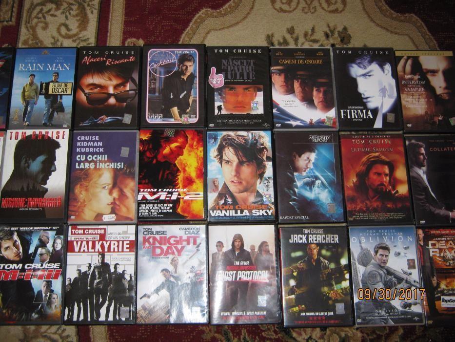 TOM CRUISE,24 dvd Filme de OSCAR,Originale,ROMANA, RARE,Toata colectia