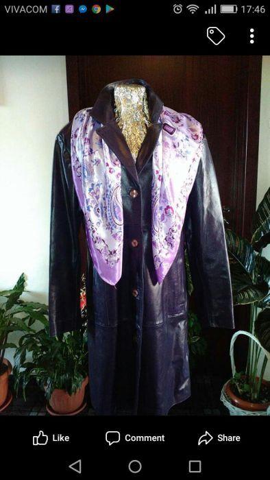 Продавам дамско палто от естествена кожа