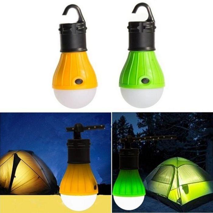 Bec / Lanterna cort, camping exterior cu baterii