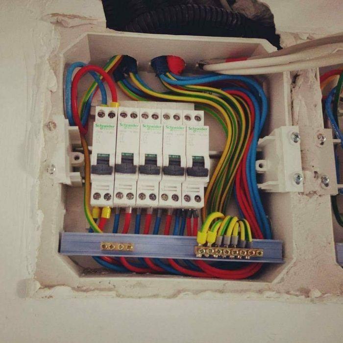 Electrician!! Execut orice fel de lucrari electrice autorizate!