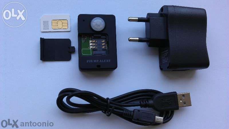 ОРИГИНАЛНА GSM аларма Pir инфрачервен сензор за движение SIM СОТ охран