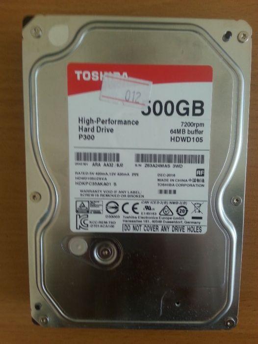 Жесткий диск Toshiba 500гб НОВЫЙ