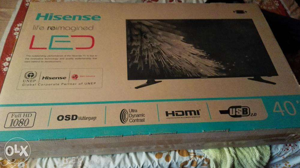 "TV Hisense super slim 40"" LED"