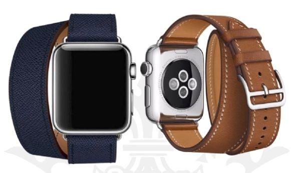 bc79432ac77 Pulseira Apple Watch Hermès Double Tour - 38mm   42mm e 40mm   44mm