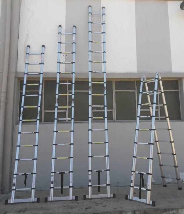 Escadotes telescópicos de alumínio de alta qualidade Modelo KME3056