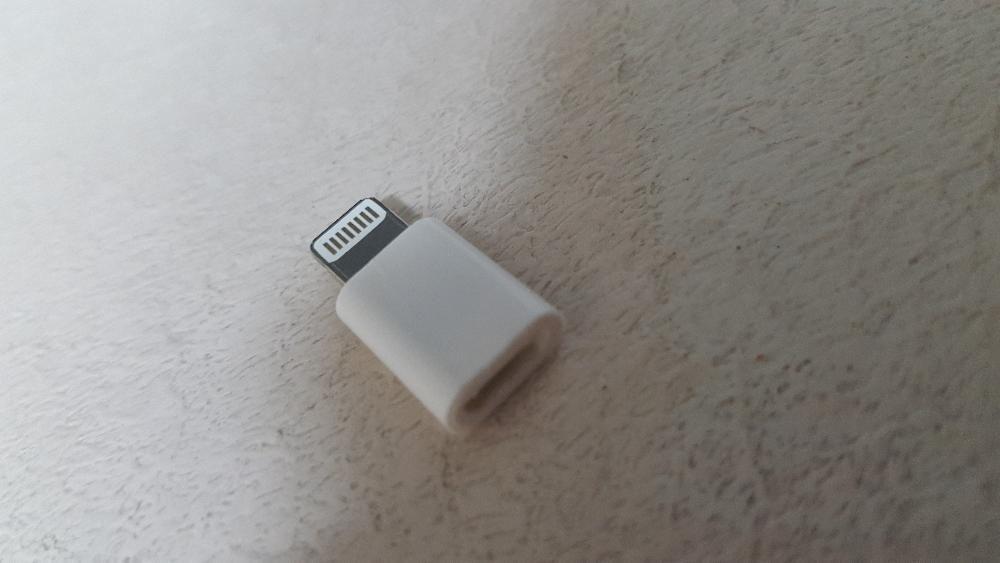 Adaptor de la micro usb la 8 pin - Incarcator iPhone - cablu de date