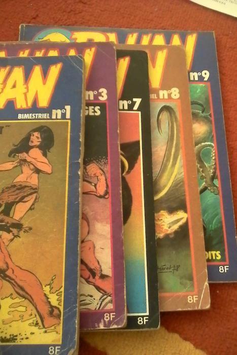 reviste rahan colectia anilor 70-80 limba franceza