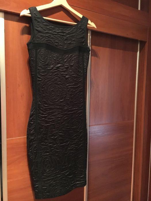 Елегантна черна рокля S/M