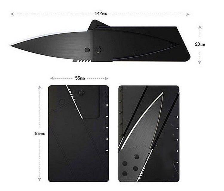 Мини джобен нож кредитна карта