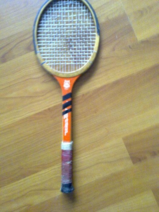 Rachete tenis lemn