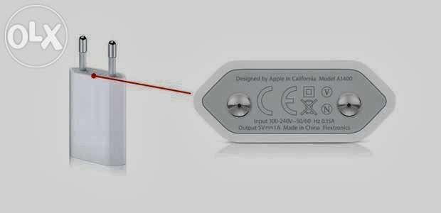 Incarcator original Apple pentru iPhone 5 / 6, din cutia telefonului