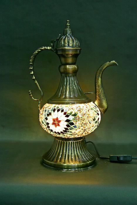 лампа чайник