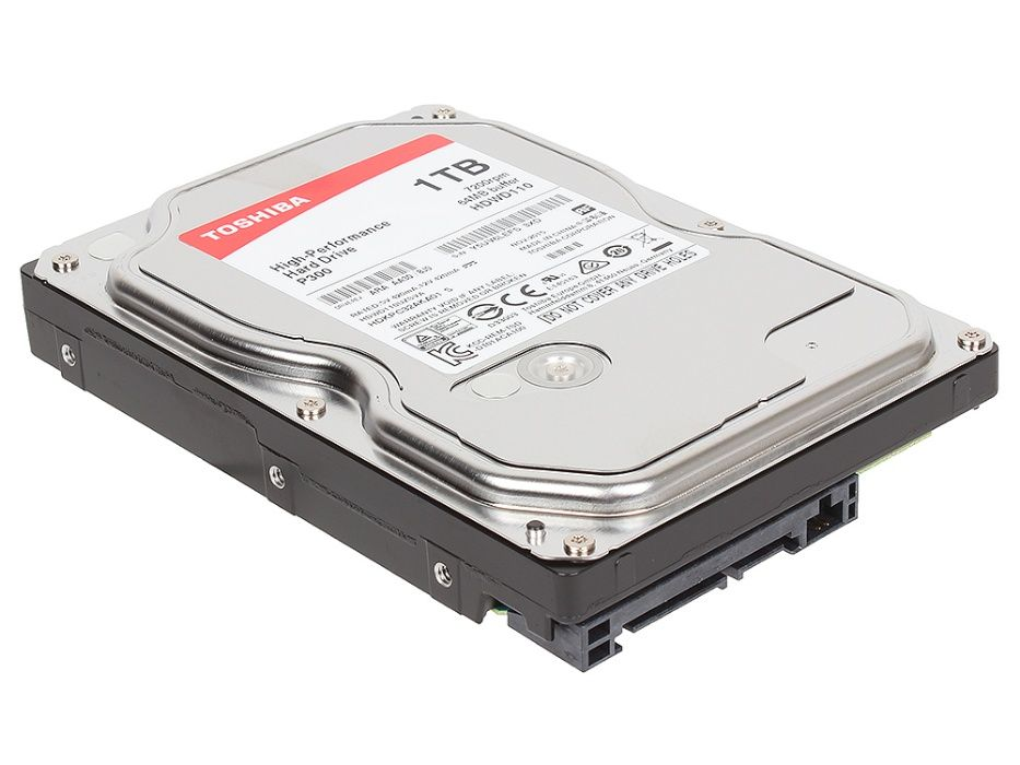 Жесткие диски 80Gb-6Tb (HDD, SSD) в количестве.
