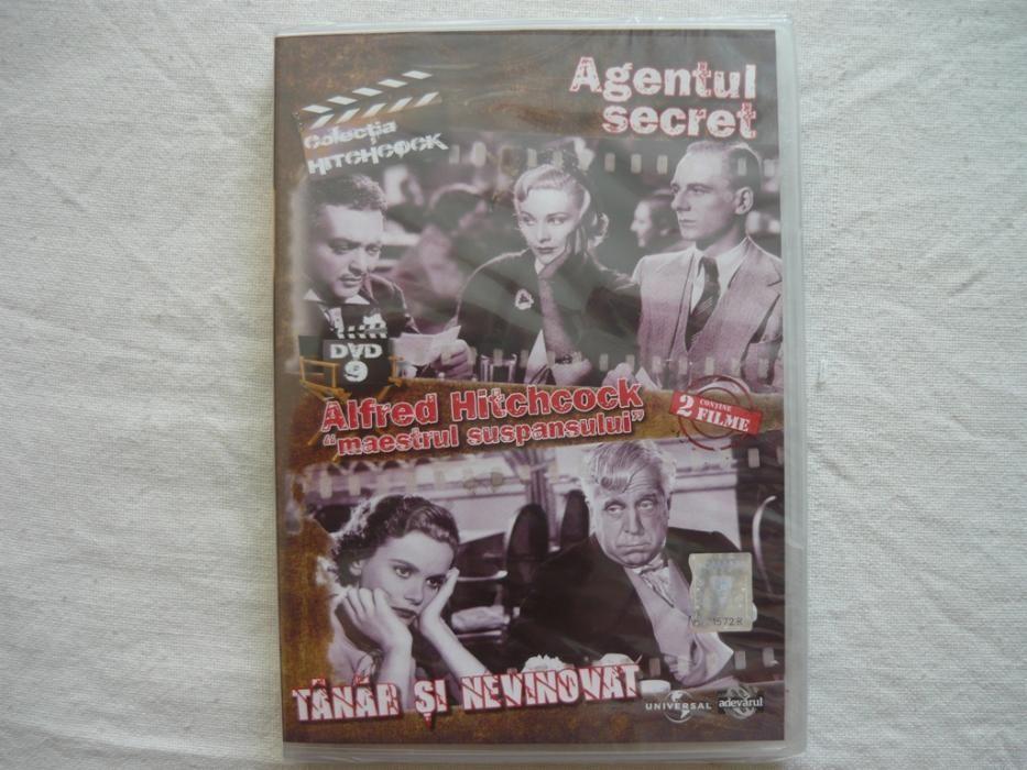 DVD Agentul Secret/Tanar si Nevinovat de la ADEVARUL , Colectia Alfred